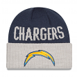 San Diego Chargers New Era NFL Classic Cover Cuffed Knit Hat