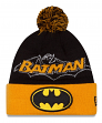 "Batman New Era ""Winter Fresh"" Cuffed Knit Hat with Pom"