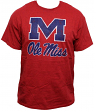 "Mississippi Ole Miss Rebels NCAA Majestic ""Always Admired"" Weathered Red T-Shirt"