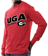 "Georgia Bulldogs NCAA Majestic ""Points Earned"" Men's Long Sleeve T-Shirt"