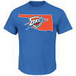 "Kevin Durant Oklahoma City Thunder Majestic NBA ""Record Holder"" Player T-Shirt"