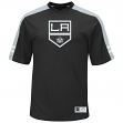 """Los Angeles Kings Majestic NHL """"Quick Play"""" Cool Base V-Neck Shirt"""