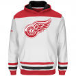 """Detroit Red Wings Youth Majestic NHL """"Lil' Double Minor"""" Hooded Sweatshirt"""