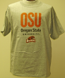 Oregon State NCAA Licensed Gray Logo T-Shirt