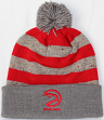 "Atlanta Hawks Mitchell & Ness NBA ""Speckled Crown"" Cuffed Knit Hat w/ Pom"
