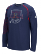 "New York Red Bulls Adidas MLS ""Frequency"" Performance Long Sleeve Jersey Top"