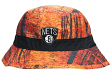"Brooklyn Nets Mitchell & Ness NBA ""Forest Camo"" Bucket Hat"
