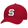North Carolina State Wolfpack Adidas Performance Structured Adjustable Red Hat