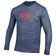 """Mississippi Ole Miss Rebels Under Armour NCAA """"Safety Blitz"""" Tri-Blend L/S Shirt"""