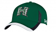 "Hawaii Warriors Under Armour NCAA Sideline ""Renegade"" Stretch Fit Hat"