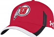 "Utah Utes Under Armour NCAA Sideline ""Renegade"" Stretch Fit Hat"