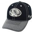 """Missouri Tigers NCAA Top of the World """"High Post"""" Memory Fit Flex Hat"""