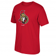 Ottawa Senators Reebok NHL Primary Logo Men's Red T-Shirt