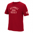 """Detroit Red Wings CCM """"Back in the Day"""" NHL Distressed Men's Premium T-Shirt"""