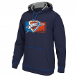 Oklahoma City Thunder Adidas 2015 NBA Tip-Off Men's Climawarm Hooded Sweatshirt