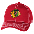 "Chicago Blackhawks Reebok NHL ""High Stick"" Slouch Adjustable Hat"