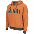 "Miami Hurricanes NCAA ""Flurry"" Pullover Hooded Men's Sweatshirt"