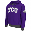 "TCU Horned Frogs NCAA ""Flurry"" Pullover Hooded Men's Sweatshirt"