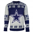 "Dallas Cowboys Men's NFL ""Big Logo"" Ugly Sweater"