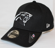 Carolina Panthers New Era 39THIRTY Black & White Neo Performance Flex Fit Hat