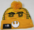 "C3PO Star Wars New Era ""Galactic Biggie"" Cuffed Knit Hat"