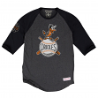 """Baltimore Orioles MLB Mitchell & Ness """"Top of the Inning"""" Men's 3/4 Sleeve Shirt"""