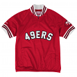 """San Francisco 49ers Mitchell & Ness NFL """"Championship"""" Mesh Pullover Jacket"""