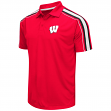 "Wisconsin Badgers NCAA ""Admiral"" Men's Performance Polo Shirt"