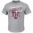 "Texas A&M Aggies Majestic NCAA ""Easy Does It"" Men's S/S T-Shirt"