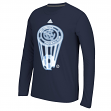 "New York City FC Adidas MLS ""Glow Explode"" Men's Climalite Long Sleeve T-Shirt"