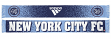 "New York City FC Adidas MLS ""Dotted"" Performance Jacquard Team Scarf"
