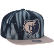 "Memphis Grizzles Mitchell & Ness NBA ""Torn Denim"" Snap Back Hat"