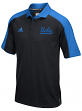 "UCLA Bruins Adidas NCAA ""Sideline"" Climalite Polo Shirt - Black"
