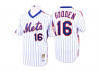 Dwight Gooden New York Mets Mitchell & Ness Authentic MLB 1986 Pullover Jersey