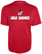 "Georgia Bulldogs Majestic NCAA ""Training To Win"" Performance T-Shirt"