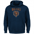 "Chicago Bears Majestic NFL ""Kick Return 2"" Men's Navy Hooded Sweatshirt"