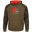 "Cleveland Browns Majestic NFL ""Armor 2"" Men's Pullover Hooded Sweatshirt"