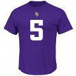 Teddy Bridgewater Minnesota Vikings Majestic NFL Eligible Receiver III T-Shirt