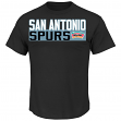 "David Robinson San Antonio Spurs Majestic NBA ""Custom"" Throwback Player T-Shirt"