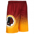 "Washington Redskins NFL ""Gradient"" Men's Polyester Training Shorts"