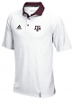 "Texas A&M Aggies Adidas NCAA ""Sideline"" Climachill Polo Shirt - White"