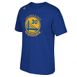 Stephen Curry Golden State Warriors NBA Adidas Player Blue T-Shirt