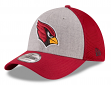 "Arizona Cardinals New Era NFL 39THIRTY ""Heathered Gray Neo"" Flex Fit Hat"
