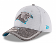 Carolina Panthers New Era 39THIRTY 2016 Official Training Flex Hat - Gray