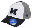 "Michigan Wolverines NCAA Top of the World ""Hustle"" Stretch Fit Performance Hat"