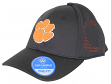"Clemson Tigers NCAA TOW ""Rails Black"" Stretch Fit Performance Mesh Hat"