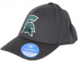 "Michigan State Spartans NCAA TOW ""Rails Black"" Stretch Fit Performance Mesh Hat"