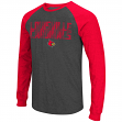 "Louisville Cardinals NCAA ""Olympus"" Long Sleeve Raglan Shirt - Charcoal"