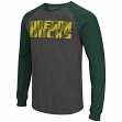 "Oregon Ducks NCAA ""Olympus"" Long Sleeve Raglan Shirt - Charcoal"