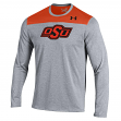 """Oklahoma State Cowboys Under Armour NCAA """"Defensive Stop"""" Performance L/S Shirt"""